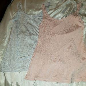 Bundle of 2 silky camis